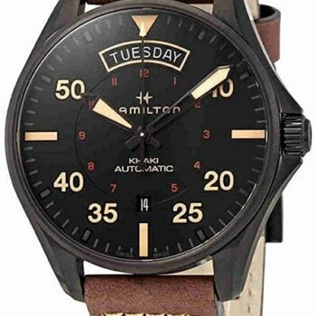 HAMILTON Khaky Aviation Pilot Day Date Auto