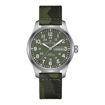 HAMILTON Khaky Field Day Date Automatic