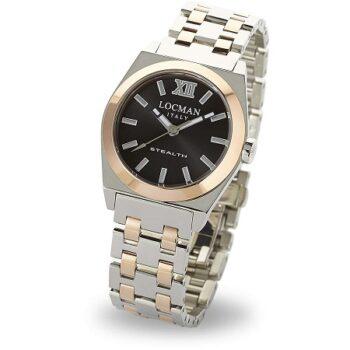 LOCMAN orologio solo tempo donna Locman Stealth 02040RGYFNK0BAR