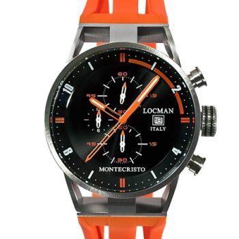 LOCMAN Cronografo Montecristo 051000BKFOR0GOO