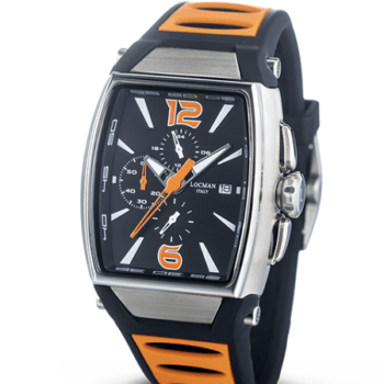 LOCMAN Cronografo New Tremila 0550A01S-00BKORSO