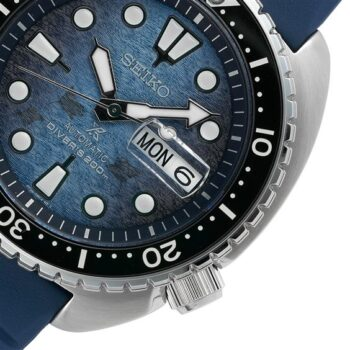 SEIKO king Turtle Save the ocean Manta SRPF77K1
