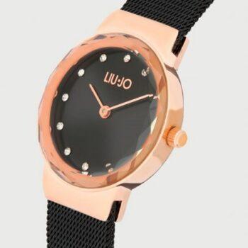 LIU-JO Aurora Nero e Rose Gold TLJ1861